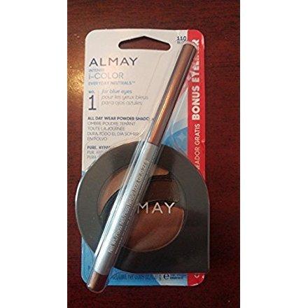 Almay Intense i-Color Everyday Neutrals 110 for Blue Eyes All Day Wear Powder Shadow & Bonus Eyeliner