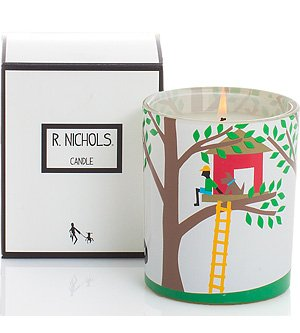 TH251-1317687924 R Leaves Nichols Cedar Treehouse and Campfire Scented Candles