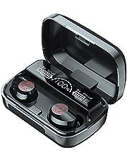 Cuffie auricolari Wireless Bluetooth 5.1 manchet van gioco auricolari Sport annulatie van geruchten in escuzione microfono TWS nuovo,Black