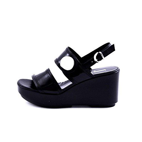 Jeannot , Damen Sandalen schwarz schwarz