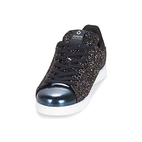 Zapatillas Glitter Mujer Deportivo Marino Para Victoria cx8qwEOA55