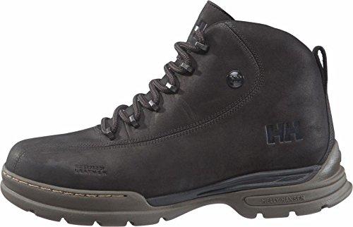 Helly Hansen Berthed 3, Stivali con Caldo Rivestimento Interno Uomo Nero (996 Jet Black/Espresso Gum)