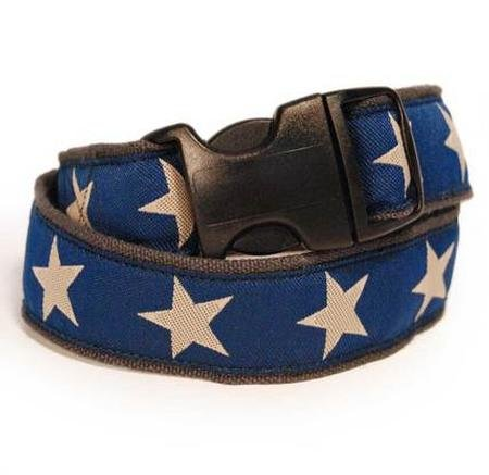 Hemp Star Dog Collars-S-KODY(GRN)