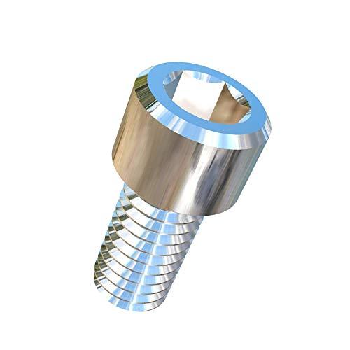 (Allied Titanium 0017031, (Pack of 10) 3/8-16 X 3/4 UNC Titanium Socket Head Machine Screw, Grade 2 (CP))