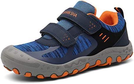 Mishansha Hiking Shoes for Kids Mesh Knit Sneakers Outdoor Trekking Walking Trail  Running Shoe Blue Big Kid 1: Buy Online at Best Price in UAE - Amazon.ae