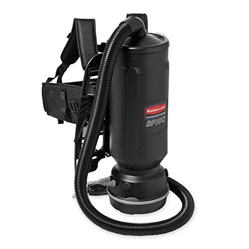 Rubbermaid Commercial Executive Series Backpack Vacuum Cleaner, 8-Amp, 10-quart (1868434)