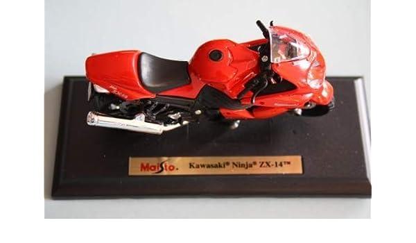 Motorrad Modell Maisto 1:18 Kawasaki Ninja ZX-14: Amazon.es ...
