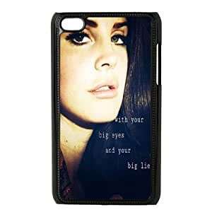 LSQDIY(R) Lana Del Rey iPod Touch 4 Case Cover, Customized iPod Touch 4 Cover Case Lana Del Rey