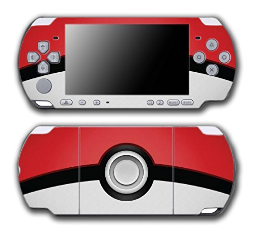 Psp Protective Cover - Pokemon Pokeball Pikachu Special Edition Video Game Vinyl Decal Skin Sticker Cover for Sony PSP Playstation Portable Slim 3000 Series System