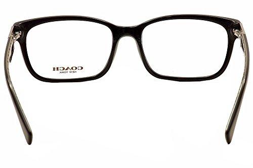 c3102c718a4d Amazon.com  Coach Women s HC6062 Eyeglasses Black Black Military Sig C  53mm  Clothing