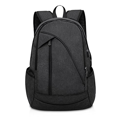 ibagbar-water-resistant-laptop-backpack-with-usb-charging-port-fits-up-to-156-inch-laptop-and-notebo