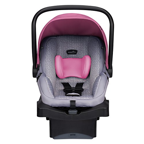 Review Evenflo LiteMax 35 Infant Car Seat, Azalea