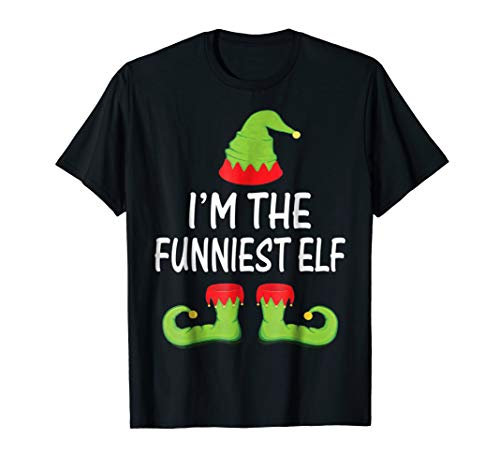 Funny Elf T-Shirt Family Matching Costume Christmas Shirt ()
