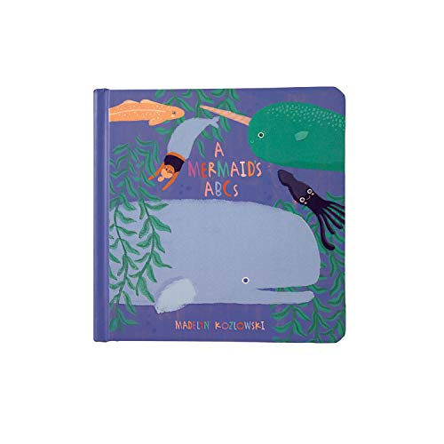 Manhattan Toy Mermaid's ABCs Baby Board Book, Ages 6 Months and up ()