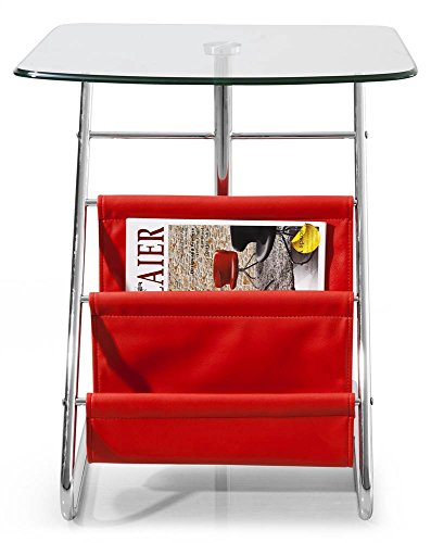 Bob Side Table in Red