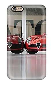 A prueba de golpes/dirt-proof Alfa Romeo Giulia 31de TPU para iPhone (6) 2337000K88183840