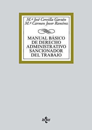Manual básico de Derecho administrativo sancionador del trabajo (Derecho - Biblioteca Universitaria De Editorial Tecnos