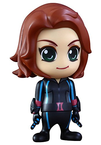 Hot Toys Marvel Avengers Age of Ultron Cosbaby Series 2 Black Widow 3-Inch Mini Figure -