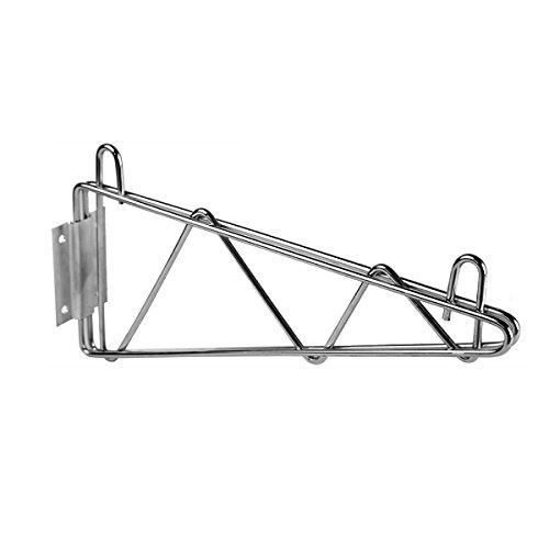 Wire Single Shelf (Excellante Direct Wall Bracket Single Shelf Support, 24