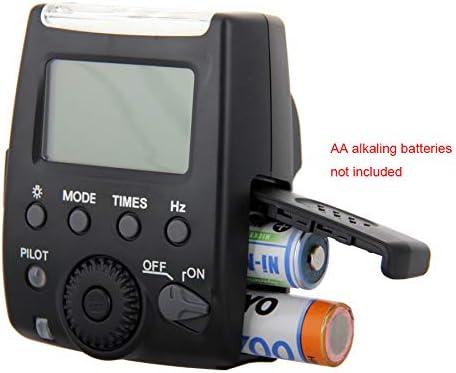 QYRL Speedlite LCD Flash Camera for Nikon D60 D90 D3000 D3100 D5000 D5100 D5200 D7000 D7100 Digital SLR Cameras