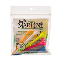 "Martini 3 1/4"" Step-Up Assorted Golf Tees- Pack of 2 (10 Tees)"