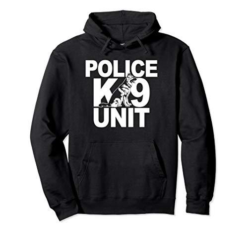Police K-9 Unit Hoodie German Shepherd Front Print -