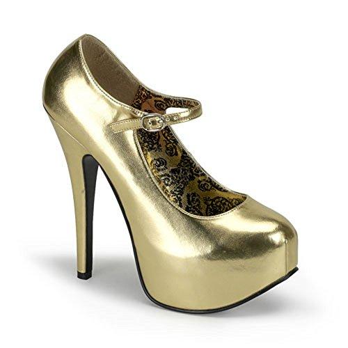Heels-Perfect - Plataforma de material sintético mujer dorado - dorado