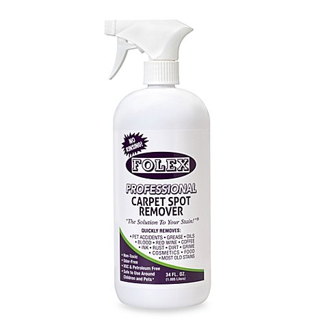 Folex Professional Carpet Spot Remover, No Rinsing (34 oz - Pack of 1)