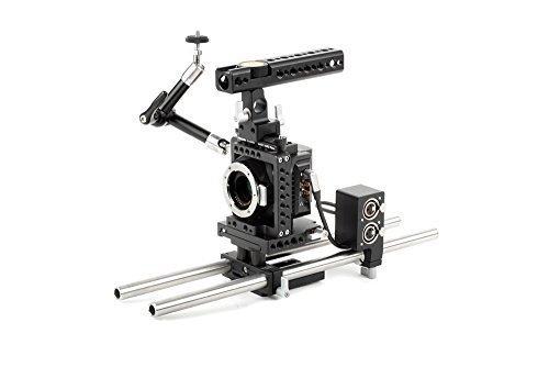木製カメラ – Blackmagic Micro Cinemaカメラアクセサリキット( Advanced )   B01AISTSKG