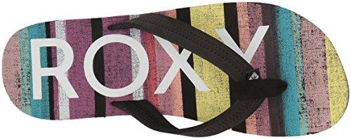 Women's Black Roxy Break Flip Flop Multi Point FCPwqz