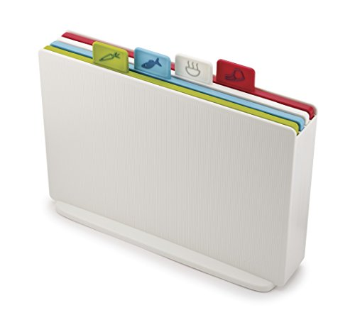 Joseph Joseph Index Chopping Board Set - White, Set of 4