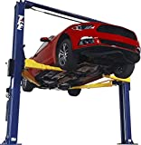 TCE T110002OH33A Torin T11000-2OH-33-A Hydraulic Two Post Overhead Auto Hoist Clear Floor Car Lift with Combo Symmetrical and Asymmetrical Support Arms: 5.5 Ton (11,000 lbs) Capacity