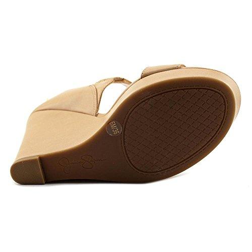 Jessica Simpson Womens Jamilee Open Toe Casual Platform Sandals Ambra Ruby Tumbled DJH4SRFnjD