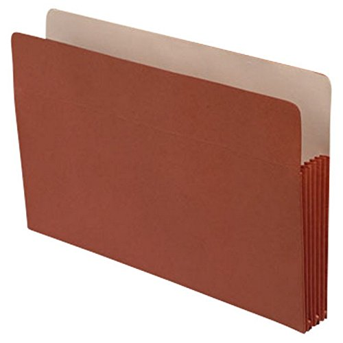 Economy TOP TAB Expansion Pockets, Paper Gussets, Legal Size, 5-1/4'' Expansion (Carton of 50)