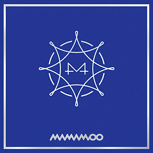 Price comparison product image MAMAMOO - Blue;S (8th Mini Album) CD+Booklet+Photocard+Folded Poster+Extra Photocards Set
