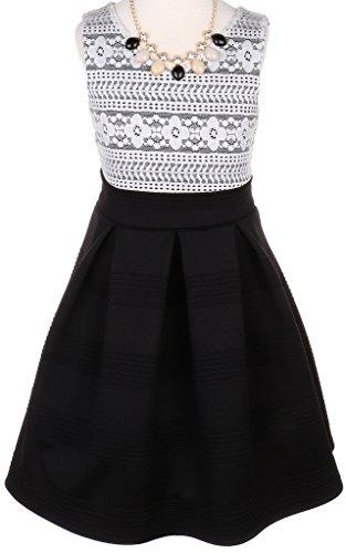 Buy belted lace dress poppy - 1