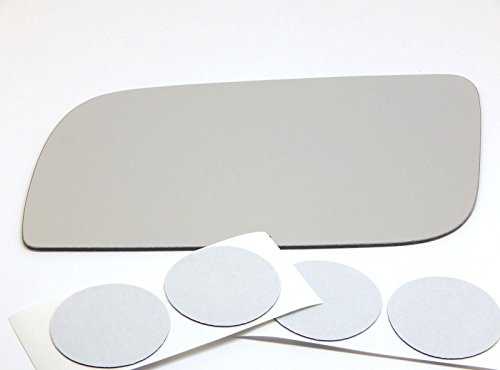 Chevy Astro Drivers (90-05 GMC Safari, Chevy Astro Van Flat, Driver Side Replacement Mirror Glass, USA)
