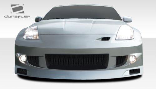 Duraflex ED-LOK-720 J-Spec Front Bumper Cover - 1 Piece Body Kit - Compatible For Nissan 350Z 2003-2008