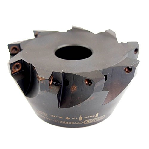 HHIP 2062-5000 5 Inch x 1-1//2 Bore 45 Degree SCMT Indexable Face Mill