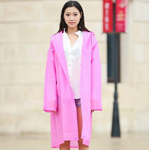 6 Poncho couleur Longue Individuel Sur Adulte Les Veste N Taille Raincoat Chapeau Tourisme Imperméable M Mode Femme Extérieure Grande De Modèles Section ° 4 Pied Homme Transparent Corée 4wAqfBfHn