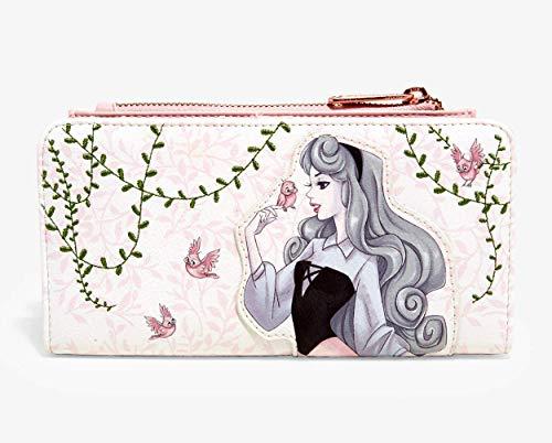 Loungefly Faux Leather Wallet of Sleeping Beauty Aurora Standard