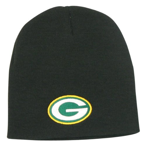 Green Bay Packers Classic Winter Knit Beanie - Black