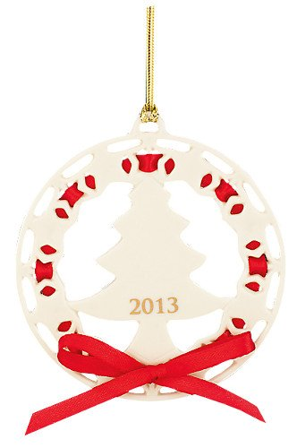 UPC 882864445698, 2013 Christmas Wrappings Christmas Tree Ornament by Lenox