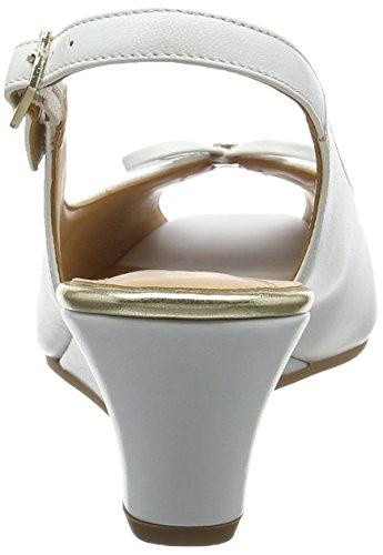 Van Dal Damen Oxley Slingback Sandalen, Weiß