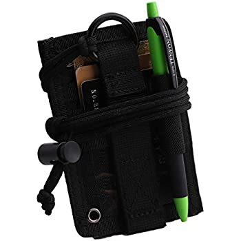 Amazon.com: OneTigris Tactical ID Card Holder Hook & Loop ...