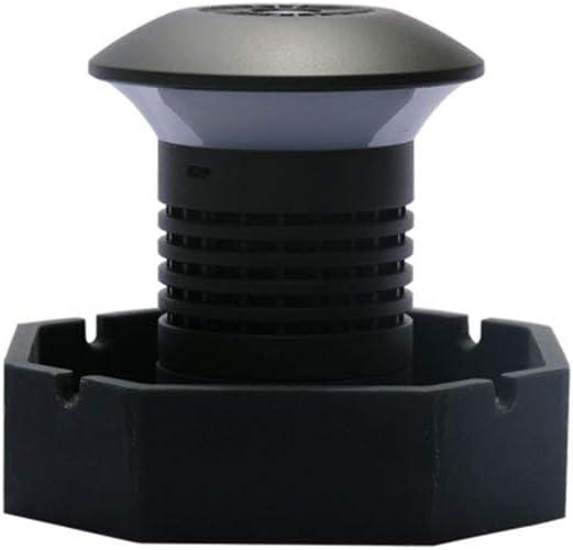 Z&LEI Purificador de Aire, Filtro de carbón Activado purificador de Humos, Adecuado para el hogar y el Humo de Segunda Mano Coche Inteligente de Escritorio purificación de Aire cenicero electrónico: Amazon.es: Hogar