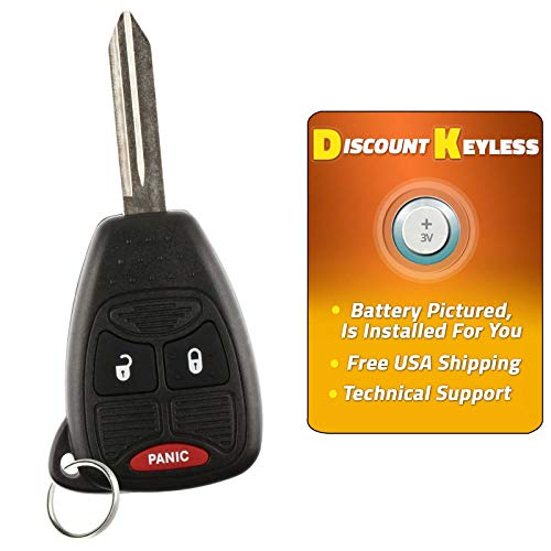 Discount Keyless Replacement Uncut Car Entry Remote Ignition Transponder Key Fob For Grand Caravan Town Country M3N5WY72XX