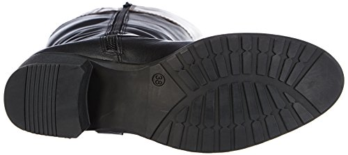 Jane Klain 266 315 - botas de caño alto de cuero mujer negro - Schwarz (black ld 006)
