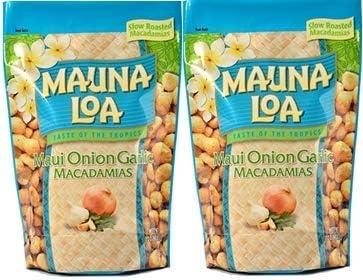 MAUNALOA(マウナロア) マウイオニオン&ガーリックマカデミアナッツ (Lサイズ 283g【2袋】)