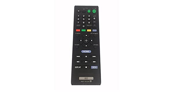 Remote Control RMT-B120P for SONY Blu-ray Disc Player BDP-S185 BDP-S186